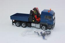 Conrad 77188 Man Tgs LX 33.440 3achs 6x4 With Palfinger Pk 53002 1:50 New