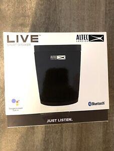 """Altec Lansing """"Live"""" Google Voice Assist Speaker - Black (GVA1)"""