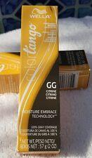 NEW GG Citrine Wella Color Tango Permanent Masque Hair Color 2 Oz