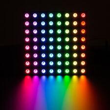 Adafruit neopixel neomatrix 8x8, 64 RGB LED píxeles Matrix, por ejemplo, para Arduino, 1487