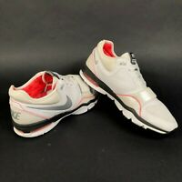 Nike Air Max Trainer 1 Mens 8 Leather CrossFit Training Running Shoes Gray Beige