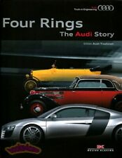 Audi Book Four Rings Story History (Fits: Audi)