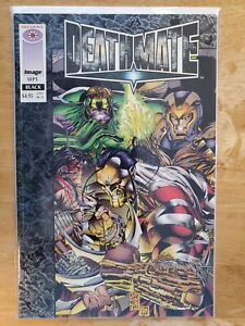 Deathmate Black 1st Appearance Of Gen 13 Image Valiant Comics 1993