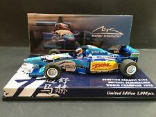 Minichamps - Michael Schumacher - Benetton - B195 - 1:43 - 1995 - World Champion