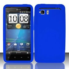 Silicone Skin Case for HTC Vivid - Blue