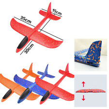 35*30cm EPP Foam Hand Throw Airplanes Outdoor Launch Glider Plane Kids Toy Gi w/