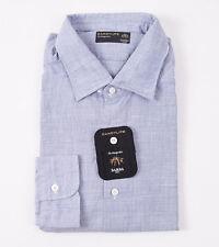 Barba Napoli Luxury Dress Shirt Cotton 17 43 Pink Stripe 11SH0144 $325