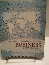 Business A Changing World Ninth Edition Ferrell Hirt 2014 McGraw Hill Softcover