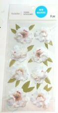"""NEW RELEASE! RECOLLECTIONS """"PEONY  STICKERS""""  8 Pieces"""