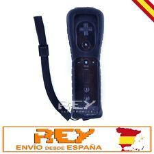 Mando Remote + Funda Silicona + Correa para Wii NEGRO Nuevo Entrega 48/72h n35
