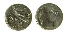pcc2029_6) Vittorio Emanuele III (1900-1943) - 20 Centesimi 1922 Libertà librata