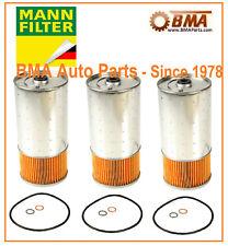 NEW Mercedes W116 W123 W126 240D 300CD 300D OEM MANN Oil Filter Kit 000180250967