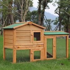 Hasenstall Hasenkäfig Kaninchenkäfig Kleintierstall Hasen Stall mit Freigehege