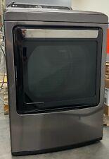 "Lg TurboSteam Series Dlgx7601Ke 27"", 7.3 cu. ft. Gas Dryer, Black Stainless St"