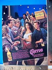 1988 Cuervo Tequila  Print Ad  with Kirstie Alley  Advertisment