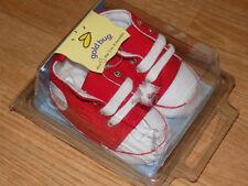 NIP Size 1 infant soft bottom denim sneakers shoes for infants, or reborns