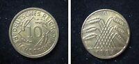 J317  10 Reichspfennig 1924 G in STG   424147