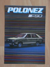 FSO Polonez 1500 Prospekt / Brochure, Holland, selten / rare