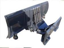96 Skid Steer Snowplow Heavy Duty Hydraulic Angle Tactor Loader Etc
