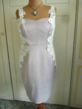 GORGEOUS COAST LACE TRIM DRESS SIZE 16