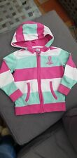 Crew Clothing Pink Stripe Hoodie Zip Up 5yrs