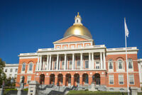 Massachusetts State House Capitol Boston Photo Art Print Poster 18x12