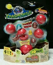 Crashlings Series 1 Insects 10 Pack Mutant Aliens Popping Meteor New In PACKAGE