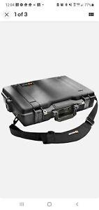 Pelican 1495 Black Hardshell Laptop Case with Combination Lock