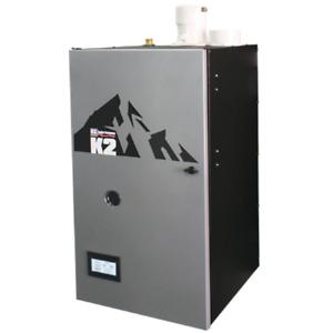 Burnham K2 - 112K BTU - 95% AFUE - Combi Gas Boiler - Direct Vent