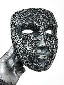 "Kingdom of Heaven inspired King Baldwin IV ""The Leper"" raw casting mask replica"