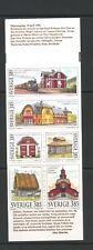 Sweden 1996 SG 1856-61 booklet Buildings Railway MNH