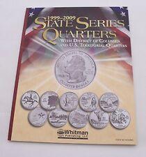 State Quarter Coin Collecting Album Folder Including D.C. & Territor, Full Color
