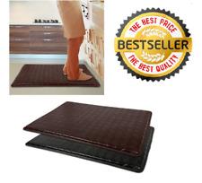 "Anti-Fatigue Floor Mat 18"" x 30"" Comfort Memory Foam Kitchen Rug 4 COLORS !!!"