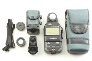 [MINT w/View Finder 5°] Minolta Flash Meter V + FLAT DIFFUSER + ATTACHMENT