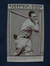 Exhibits Roger Hornsby Cardinals Baseball Greats Hall of Fame MLB 31517102