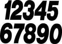 """DIRT DIGITS #1 7"""" BLACK SUPER X DIGITS 3/P K SX73B-1"""