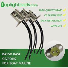 (5pcs) x BA15d 1142 Parellel Boat Bulb Light Fitting Lamp Holder Light Socket