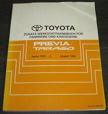 Werkstatthandbuch Toyota Previa / Tarago TCR10 TCR11 TCR20 TCR21 08/1996