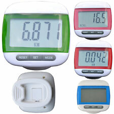 TurnerMAX Digital LCD Pedoometer Watch Counter Running Pocket Exercise Fitness