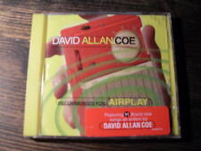 """DAVID ALLAN COE """" recommended for airplay """"     CD"""