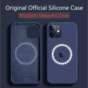 Original Genuine SafeMag Case iPhone 12 Pro Max Silicone Cover OEM With Logo