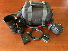 Canon EOS 80D DSLR Bundle