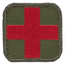 Condor Militär Medizinische Sanitäter Medic Patch Oliv Drab rot Kreuz