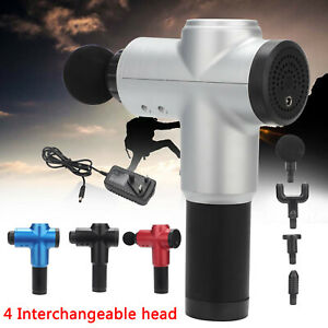 Massage Gun Percussion Massager Muscle  Vibration Relaxing Therapy Deep Tissue