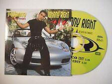 JOHNNY RIGHT : I WANNA (BE WITH YOU TONIGHT) ▓ CD SINGLE PORT GRATUIT ▓