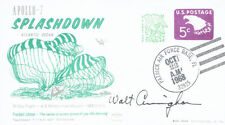 Walt CUNNINGHAM Signed Autograph First Day Cover 4 FDC AFTAL Apollo Astronaut
