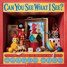 Can You See What I See? : Picture Puzzles to Search and Solve by Walter Wick...