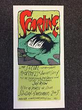 Jay Ryan 2005 Scarling Poster Print Nottingham