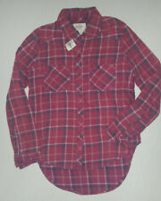 BNWT ABERCROMBIE & FITCH SUPER SOFT CHECK SHIRT SIZE S