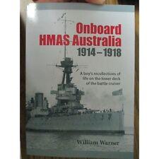 Onboard HMAS Australia 1914-18 Australian Navy WW1 sailor life rare accounts